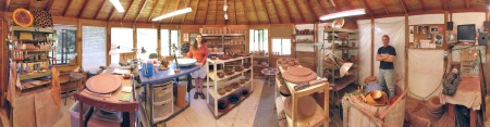 panorama studio foto, our town pottery